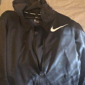 Men's Nike Basketball zip up hoodie. Size L